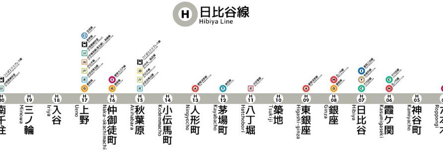 東京ダークサイドMETRO|東京メトロ日比谷線