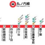 東京の真の中心円路線は俺だ!|東京メトロ丸の内線